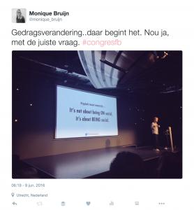 Quote presentatie Huib van Bockel